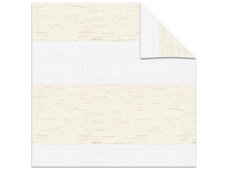 Decosol roljaloezie lichtdoorlatend 180x210 cm structuur linnen wit