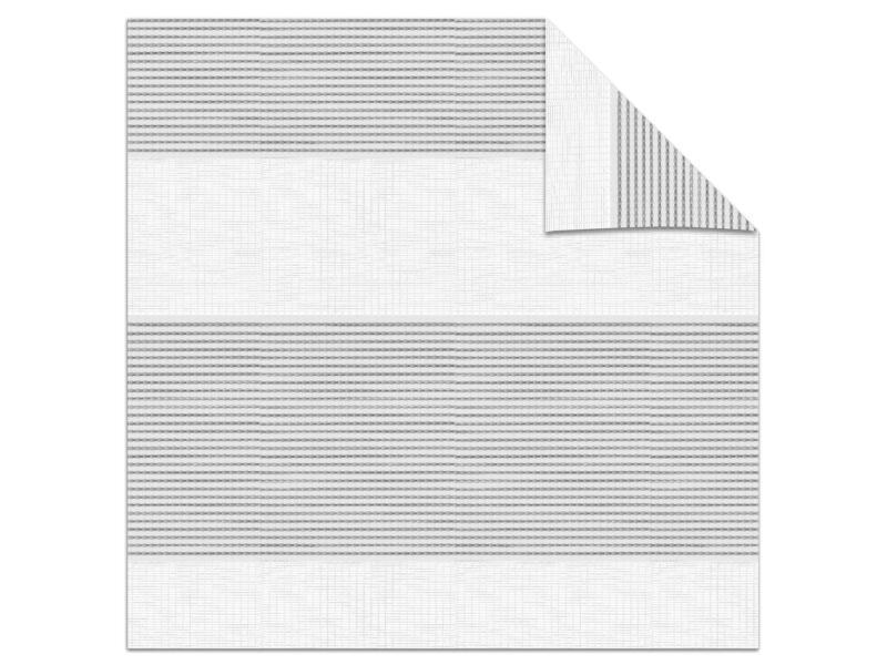 Decosol roljaloezie lichtdoorlatend 62x160 cm structuur wit-grijs