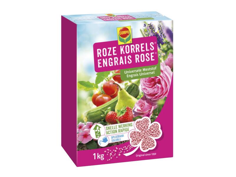 Compo roze korrels universele meststof 1kg