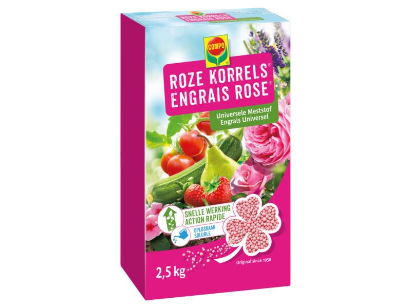 Compo roze korrels universele meststof 2,5kg