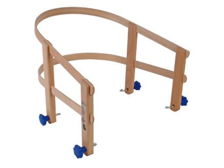 AVR rugsteun slede hout