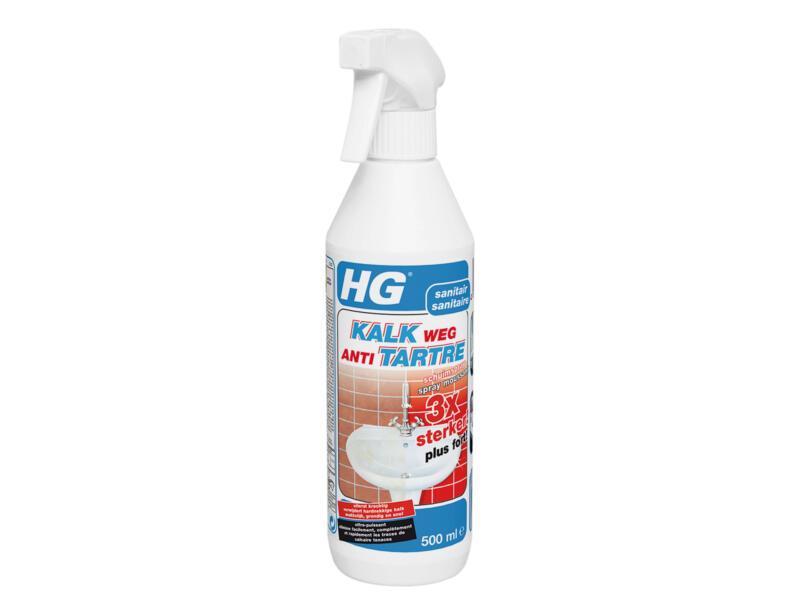 HG schuimspray antikalk 3x sterker 500ml