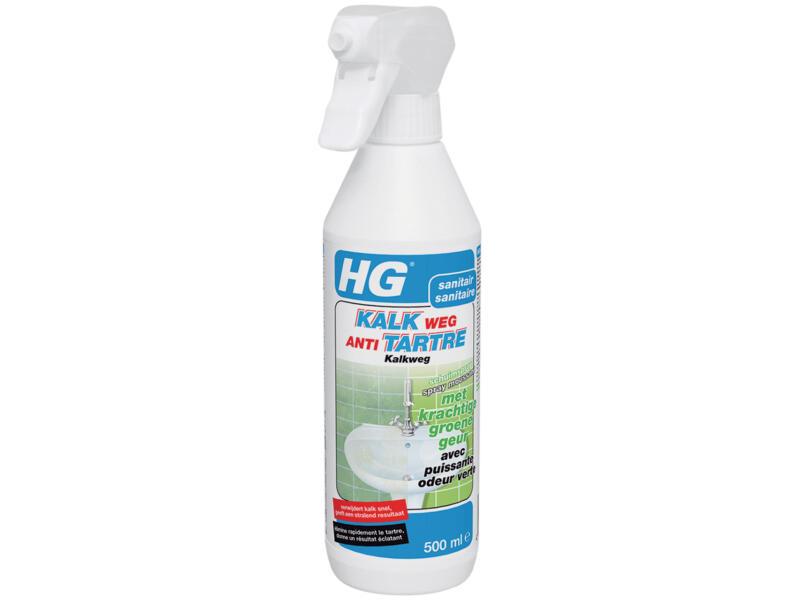 HG schuimspray antikalk met groene geur 500ml