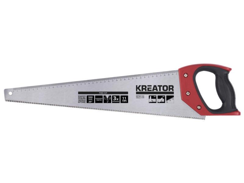 Kreator scie à main 50cm 11tpi