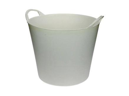 AVR seau de jardin souple 20l blanc