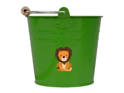 AVR seau enfants 0,75l lion vert