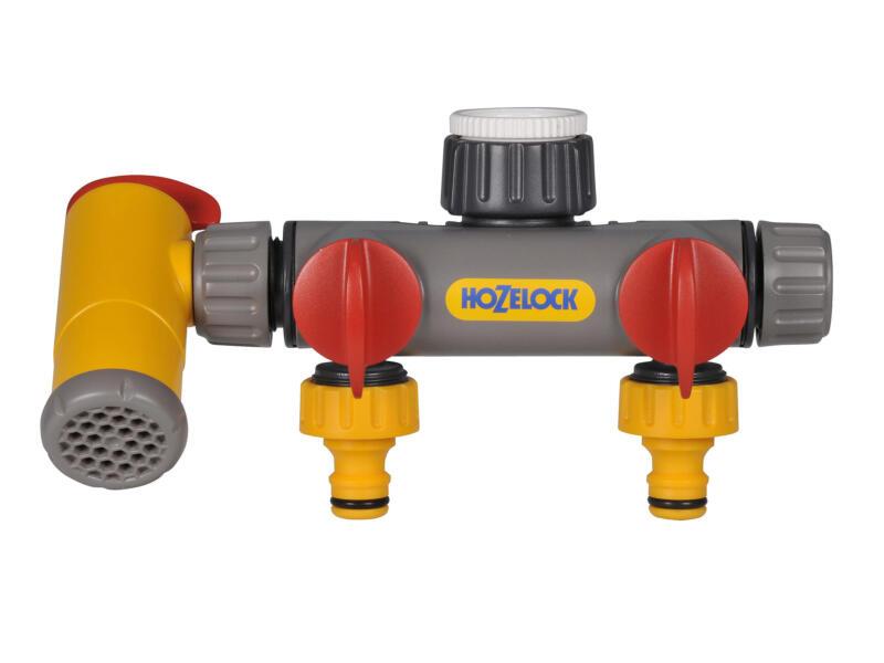 Hozelock sélecteur 2 circuits + vanne de vidange