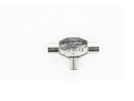 Profile séparateur domino coax M-M-F métal
