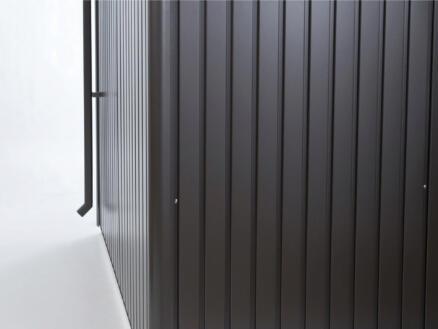 Biohort set tuyau de descente pour AvantGarde gris foncé métallique 2 pièces