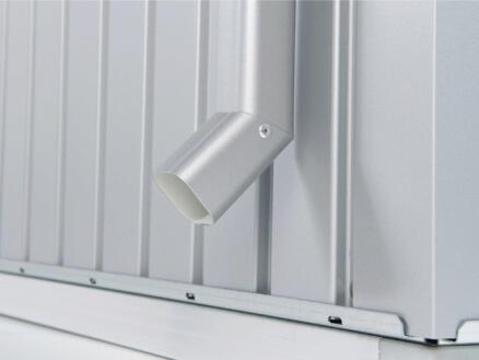 Biohort set tuyau de descente pour AvantGarde gris quartz métallique 2 pièces