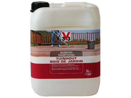 V33 shampoing bois de jardin 5l incolore