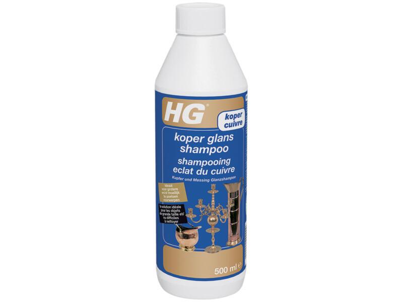 HG shampoo koper glans 500ml