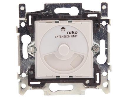 Niko socle pour variateur à bouton rotatif universel extension 325W