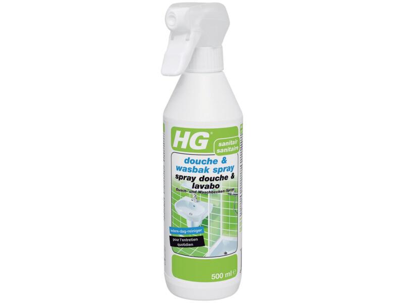 HG spray douche en wasbak 500ml
