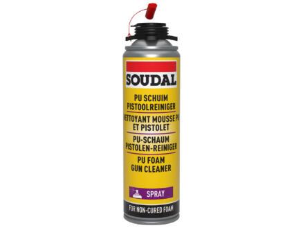 Soudal spray nettoyant mousse PU et pistolet 500ml