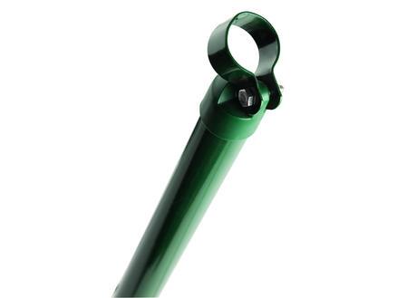 Giardino steunpaal met kop 150x4 cm groen