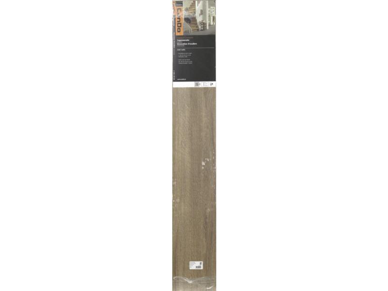 CanDo stootbord 130x20 cm burgos eik bruin 3 stuks