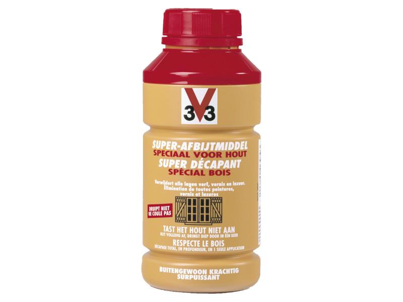 V33 superdécapant spécial bois 0,5l