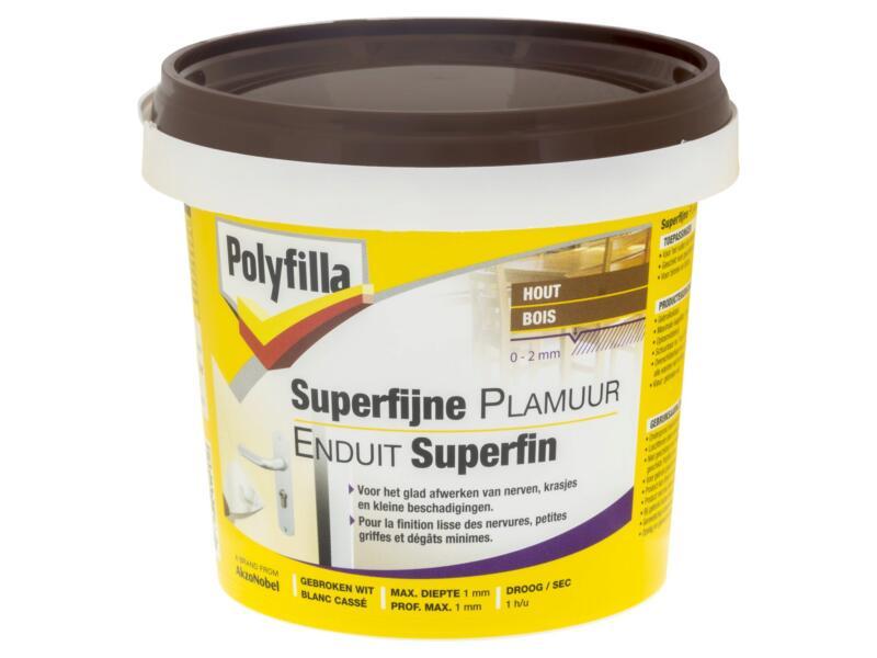 Polyfilla superfijn plamuur 500g gebroken wit