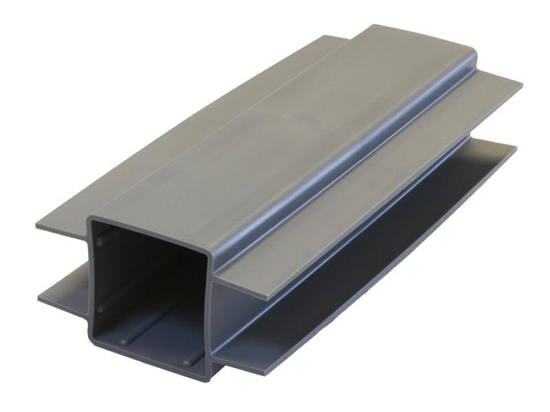 Giardino support plaque de béton poteau carré 30cm 60mm