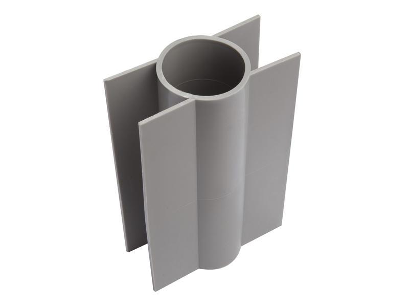 Giardino support plaque de béton poteau rond 18cm 60mm