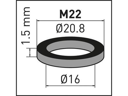 Neoperl tamis avec joint pour mousseur M22 2 pièces