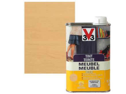 V33 teinte meuble déco mat 0,5l chêne clair