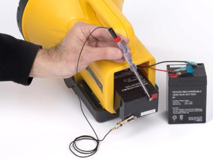 Kreator testeur électrique 14cm 6-12 V