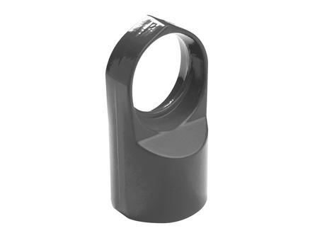 Giardino tête support de lisse 60-42 mm gris