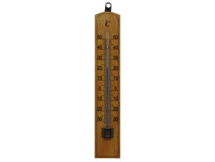AVR thermomètre extérieur 20cm bois