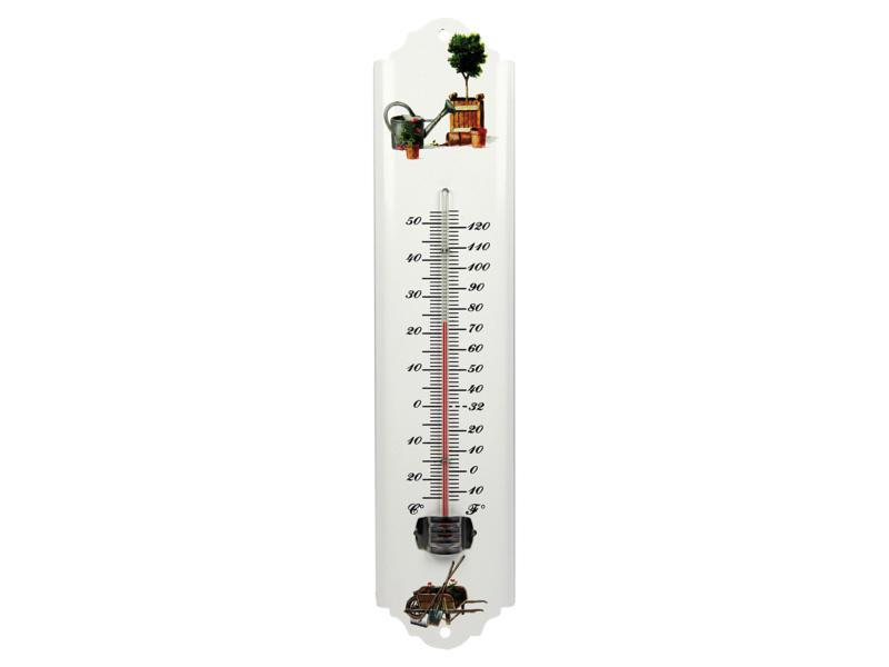 AVR thermomètre extérieur 30cm métal