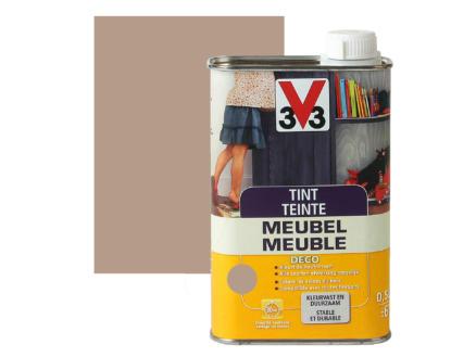 V33 tint meubel deco mat 0,5l lichtgrijs