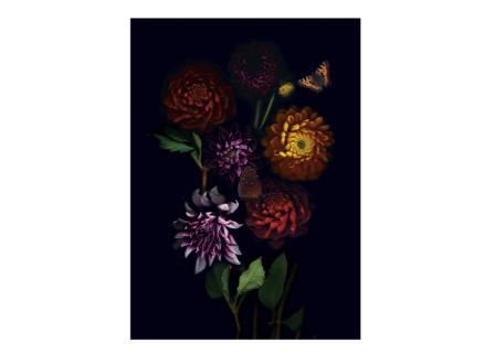 Art for the Home toile imprimée 70x100 cm composition florale
