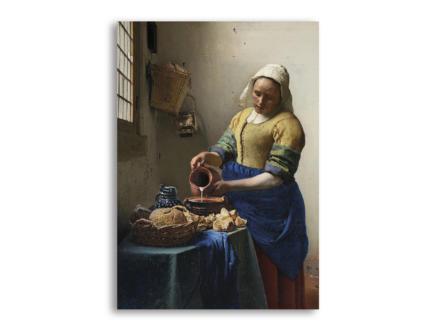 Art for the Home toile imprimée 70x100 cm la laitière