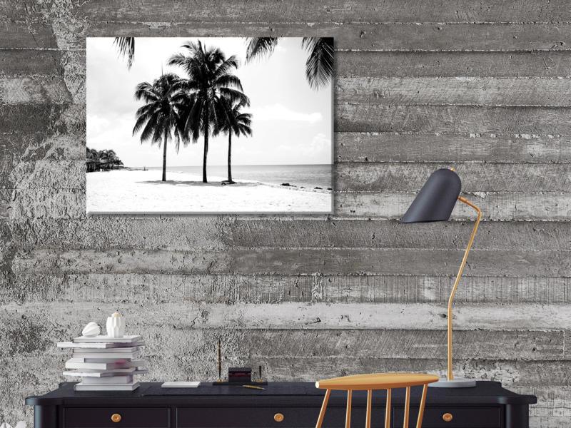Art for the Home toile imprimée 70x50 cm palmiers