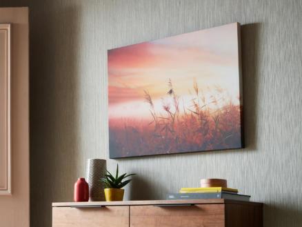 Art for the Home toile imprimée 80x60 cm lever du soleil