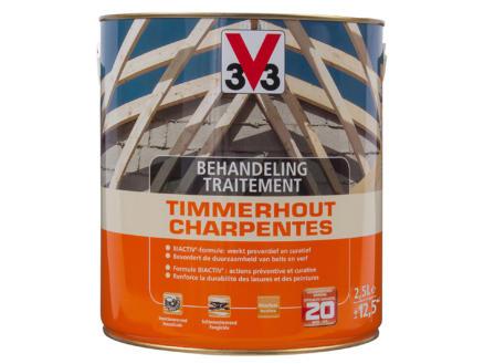 V33 traitement du bois charpentes 2,5l