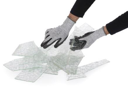 Kreator tuinhandschoenen XL PU-flex grijs