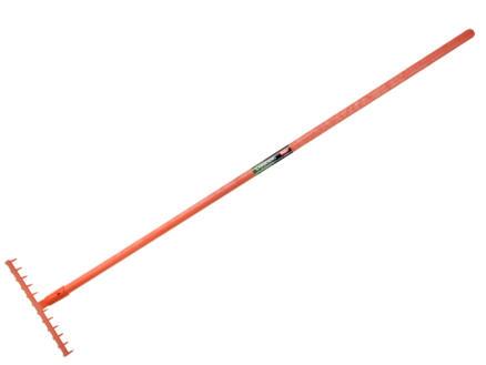Polet tuinhark 35cm 12 tanden + glasvezel steel 160cm