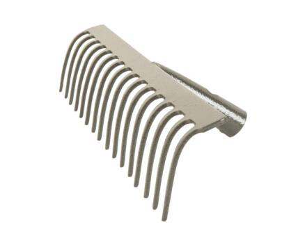 Polet tuinhark 37cm 16 tanden zonder steel