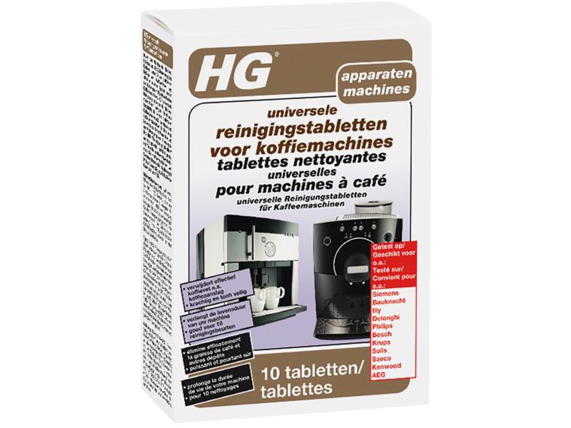 HG universele reinigingstabletten voor koffiemachine