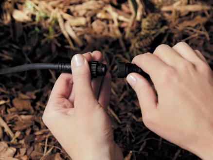 Hue verlengsnoer 5m zwart