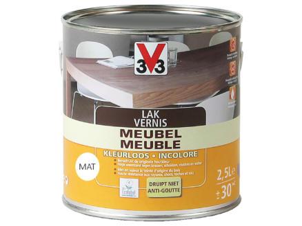 V33 vernis / lak meubel mat 2,5l kleurloos