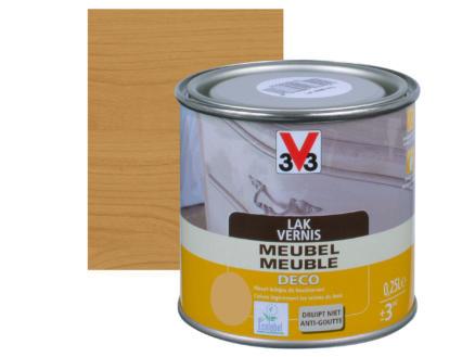 V33 vernis / laque meuble deco mat 0,25l chêne moyen