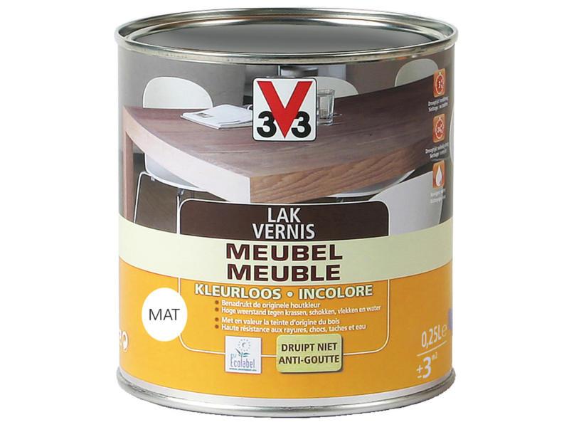 V33 vernis / laque meuble mat 0,25l incolore