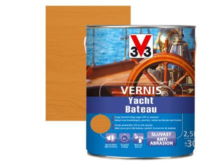 V33 vernis bateau brillant 2,5l ambré
