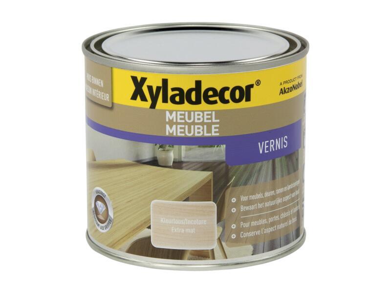 Xyladecor vernis meubel sneldrogend mat 0,5l kleurloos