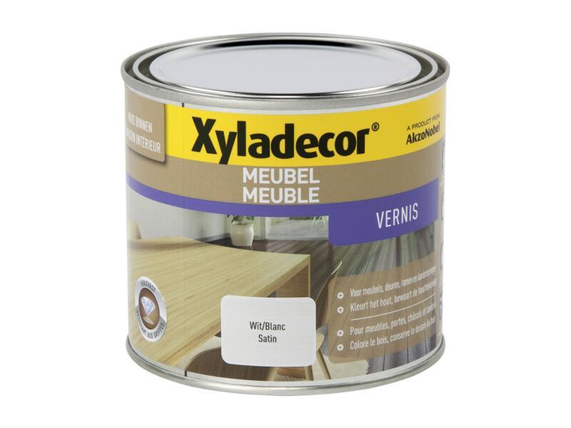Xyladecor vernis meubel sneldrogend zijdeglans 0,5l wit