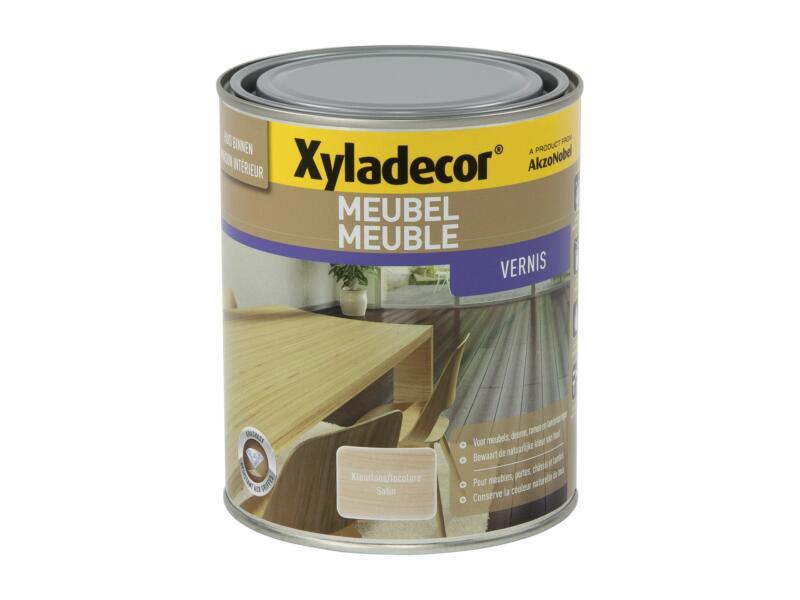 Xyladecor vernis meubel sneldrogend zijdeglans 1l kleurloos