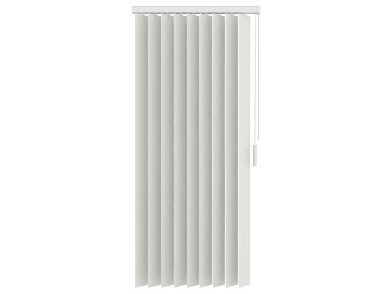 Decosol verticale lamellen verduisterend 89mm 90x130 cm wit